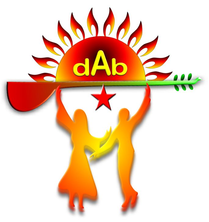 dab logo son red
